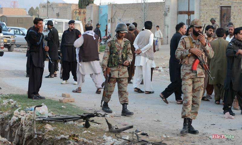 News Alert - Hand Grenade attack on FC check post at Hub, Balochistan